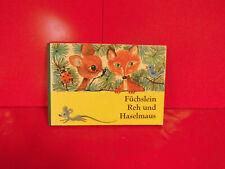 Füchslein Reh und Haselmaus,DDR 1968,gebraucht