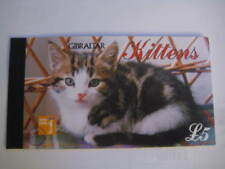 1997 Gibraltar Booklet on Kittens (#726) MNH w/original gum