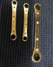 "snap on tools 5/16–11/32"" 12-Point  Offset Ratcheting Box Wrench - outillage clé"