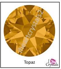 TOPAZ (203) Gold Orange Swarovski 5mm 20ss Crystal 2058 Flatback Rhinestones 144