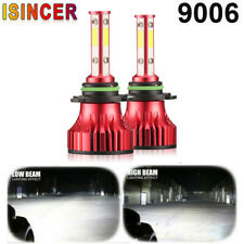 4 Sides 1500W 400000LM 9006 HB4/9012 CREE LED Headlight Fog Lamp 6000K White CAR