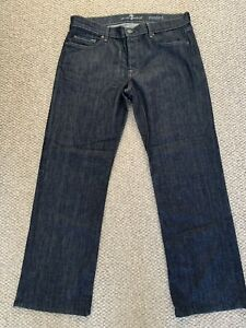 7 Seven For All Mankind - Men's Standard Blue Jeans Size 34 New Without Tags