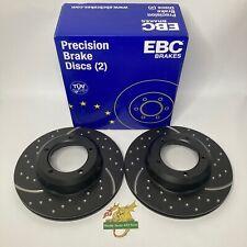 EBC Vented Turbo Groove Land Rover Brake discs GD415 LR017952 FTC902