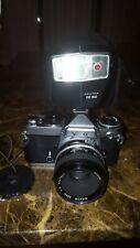Nikon FE  , Nikkor 50mm 1:2 lens