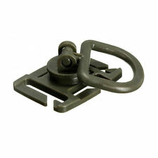 Tactical Molle ROTARY 360 DEGREE D-RING / CLIP x1 PIECE - OLIVE - ROTATION - NEW