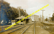 Pennsylvania RR Helmetta NJ station 8½x11 PC repro