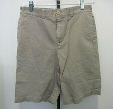Vineyard Vines Kid Boys Summer 100% Cotton Khaki Shorts Size 16EUC