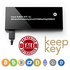 Keepkey The Simple Cryptocurrency Hardware Wallet Black BTC LTC DASH ETH BCH