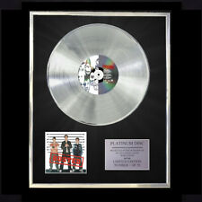 More details for busted / busted cd  platinum disc vinyl lp record award display