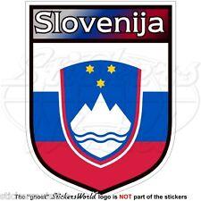 SLOVENIA Stemma Sloveno Cresta Nazionale Emblema Adesivo in Vinile Sticker