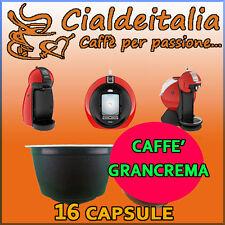 16 capsule Caffè Gusto Grancrema Cialdeitalia comp. Nescafè Dolce Gusto