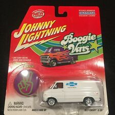 2002 Johnny Lightning Boogie Vans 1977 Chevy G-20