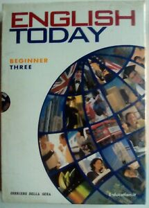 V2145-English Today (03). Beginner Three (DVD + CD + Book)