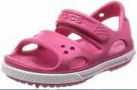 Sandali Crocs Crocband II Paradise Pink/Carnation Kids Size US/UK J3 Eur 34-35
