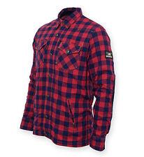 Bores Lumberjack Jacken-Hemd Baumwolle / Kevlar Motorradjacke