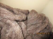 4 oz bags Dark gray washed Romney Wool Roving