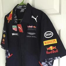 PUMA RBR Tag Heuer Mobil Rauch Red Bull Racing Formula One Team Large Shirt NWT