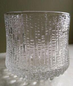 Littala Glass Ultima Thule Tappio Wirkkala  Large Goblet Vintage