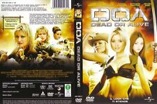 1 DVD FILM SEXY RAGAZZE FIGHTER GIRLS VIDEO GAME FIGHT MOVIE BASED-DEAD OR ALIVE