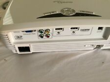 Optoma HD20 DLP Home Theater Projector plus remote plus Elite Screen 2 packages
