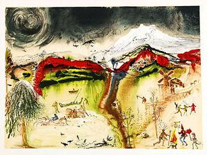 The Four Seasons III by Salvador Dali A3 Art Print