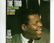 CD OSCAR PETERSON TRIOlive from chicagoVERVE VG++ (A3524)