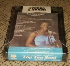 Top Ten Soul volume 5 album 8 track tape cartridge FACTORY SEALED BRAND NEW old!