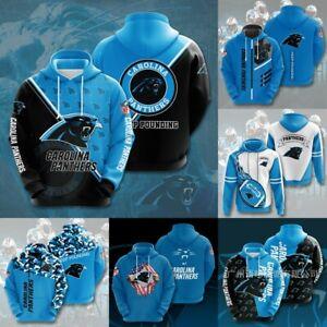 Carolina Panthers Hoodie  New Design Hooded Sweatshirt Pullover Fans Jacket Gift