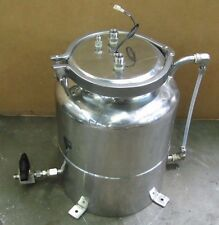 "NO NAME 10"" X 11"" STAINLESS S/S POT RESERVOIR TANK"
