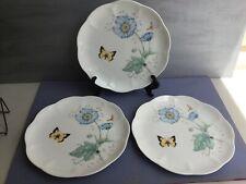 "NEW (3) Lenox Butterfly Meadow""MONARCH"" Plates 9""- MINT(ps1)"
