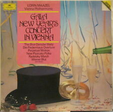 GALA NEW YEAR'S CONCERT IN VIENNA Lorin Maazel & the Vienna Philharmonic LP