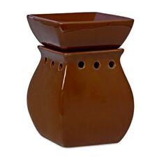 "Northern Lights Candles Ceramic Frag Chip & Jar Warmer 7"" Traditional - Chocolat"