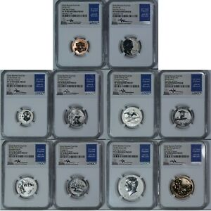 Only 10k sets!! 2019 Youth Coin and Currency Set NGC PF70 UC w OGP /& $2 Bill