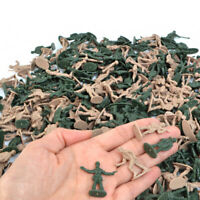 360pcs/set 1/72 Plastic Military Soldiers Figurine Army Sand Table Model