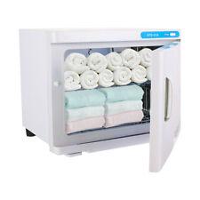 Beauty Equipment Towel Warmer Heater Facial Spa 23L Salon UV Sterilizer CabinetS