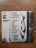 Ivor Gurney  Severn And Somme Songs And Poems By Ivor Gurney SHE 543 Vinyl, LP