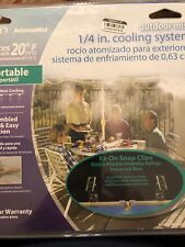 Orbit ArizonaMist Outdoor Mist 1/4 in. Cooling System portable 10 ft of cooling