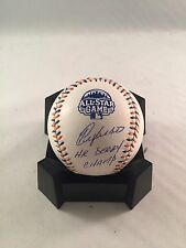 YOENIS CESPEDES OAKLAND A's SIGNED 2013 ALL STAR GAME BASEBALL MLB HOLO HR DERBY