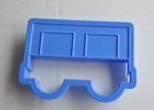 "plastic cookie cutter train boxcar 4"""