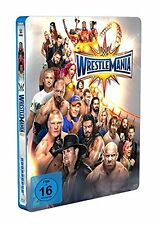 WWE WrestleMania 33 [Blu-ray Steelbook] DEUTSCH + Hall of Fame 2017 *NEU*
