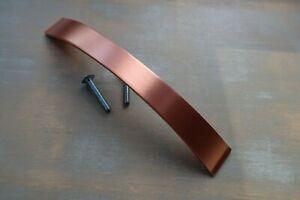Brushed Copper D pull handle kitchen bedroom cabinet cupboard drawer door x 10