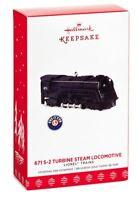 Hallmark: 671 S-2 Turbine Steam Locomotive (Black) - Lionel Trains 2017 Ornament