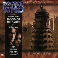 STEVE LYONS - DOCTOR WHO: BLOOD OF THE DALEKS PART 1  CD NEW