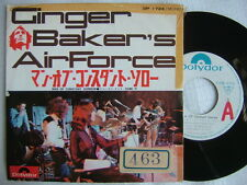 PROMO WHITE LABEL / GINGER BAKER'S AIRFORCE MAN OF CONSTANT SORROW / 7INCH PS MO