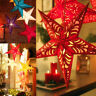 Romantic Xmas String Hanging Charm Star Party Decoration Christmas Tree Ornament