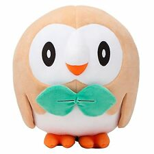 Pokemon Center Rowlet Plush Doll Figure Toy Sun Moon 7 inch Gift US Ship