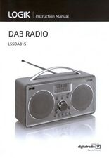 Instruction Manual for LOGIK L55DAB15 Radio - Replacement Copy