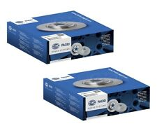 HELLA Pagid Brake Rotor Pair Front 54378PRO fits BMW 3 Series 320 d (E90) 110...