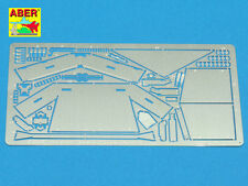 1/35 ABER 35A100 PHOTO ETCHED ADDITIONAL ARMOR for US TANK DESTROYER M10