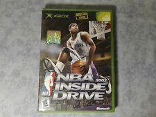 NBA 2002 INSIDE DRIVE MICROSOFT XBOX ORIGINALE CLASSIC, 360 NTSC USA US COMPLETO